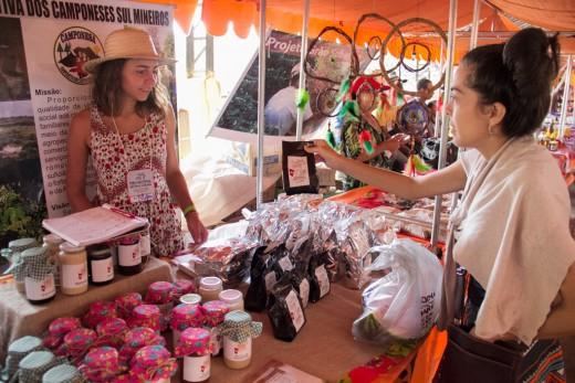 Produtos Guaií - Cooperativa Camponesa - Feira Nacional da Reforma Agrária