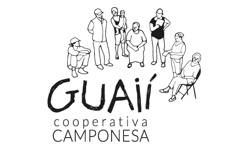 Guaií - Cooperativa Camponesa - Logomarca